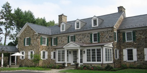 Historic Dupont Estate Renovation Exterior