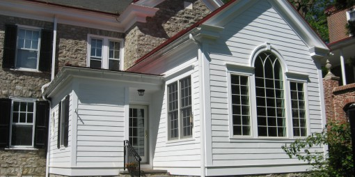 Historic Home Addition Exterior